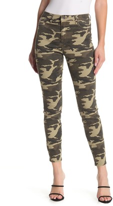 Tractr Julia High Rise Camo Skinny Jeans