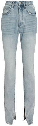 WeWoreWhat Stiletto Slit Skinny Jeans