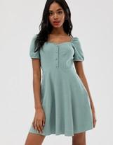 New Look prarie dress in powder mint