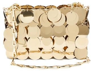 Paco Rabanne Sparkle 1969 Mini Sequinned Shoulder Bag - Gold