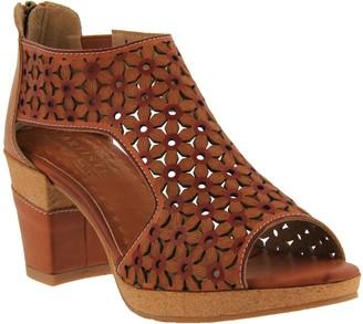 Spring Step L'Artiste by Leather Sandals - Hibiskus