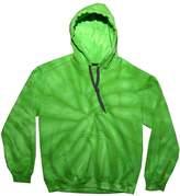 Tie-Dyed TDUK Mens Tie Dye Hooded Sweatshirt / Hoodie (M)
