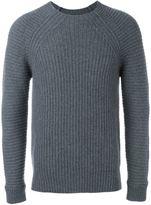 Diesel Black Gold 'Kollision' ribbed knit jumper