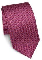 Salvatore Ferragamo Small Gancini Silk Tie