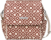 Petunia Pickle Bottom Mazes of Milano Boxy Convertible Diaper Backpack