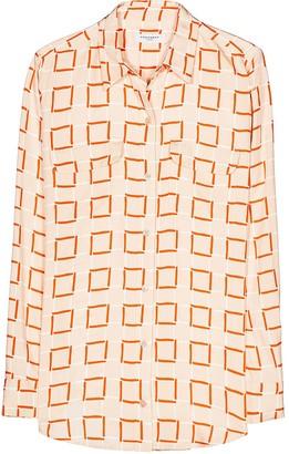 Equipment Geometric-Print Shirt