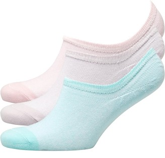 Fruit Cake Fruitcake Womens Invisible Trainer Liners Twist Yarn/Lilav Mint Pink