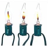 Kurt Adler UL0702 Flicker Flame Light Set, 10 Light