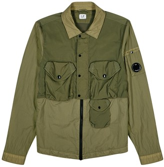 C.P. Company Taylon army green shell jacket
