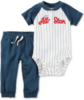 Carter's 2-Pc. All-Star Bodysuit & Pants Set, Baby Boys (0-24 months)