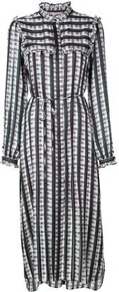 Jason Wu striped midi dress