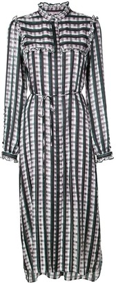 Jason Wu Striped Midi Dress