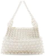 Shrimps Quinn Faux-pearl Embellished Clutch - Womens - Cream Multi