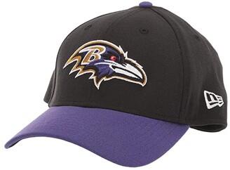 New Era NFL Team Classic 39THIRTY Flex Fit Cap - Baltimore Ravens (Black/Purple) Baseball Caps