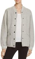 Current/Elliott Current/Elliot Classic Varsity Jacket
