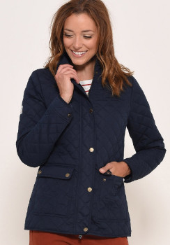 Brakeburn - Navy Classic Quilted Jacket - 8