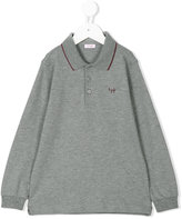 Il Gufo long sleeve polo shirt