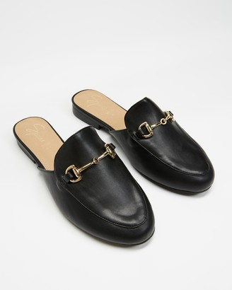 Spurr Sim Wide Fit Mules