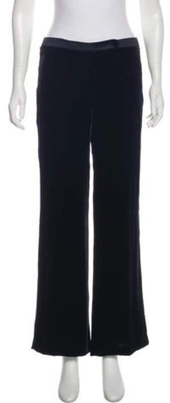 84879367 Velvet Flared Pants Velvet Flared Pants