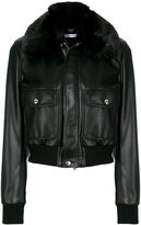 Givenchy fur collar bomber jacket