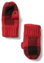 Gap Buffalo plaid mittens