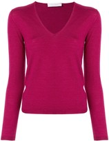 Cruciani long-sleeve fitted top