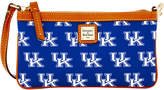 Dooney & Bourke Kentucky Wildcats Large Slim Wristlet