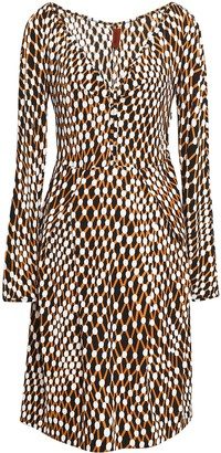 Missoni Printed Stretch-jersey Dress