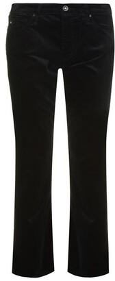AG Jeans Jodi High Rise Slim Velvet Crop Jeans
