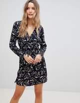 Lavand Wrap Front Dress