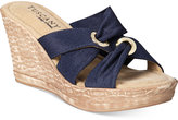 Easy Street Shoes Tuscany Solaro Wedge Sandals