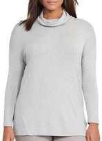 Lauren Ralph Lauren Plus Relaxed-Fit Solid Sweater