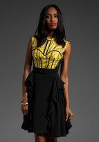 Z Spoke by Zac Posen Runway Plaid Dress