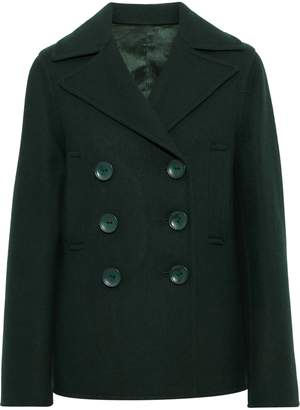Joseph New Hector Double-breasted Wool-blend Peacoat
