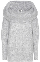 Acne Studios Daze Mohair And Wool-blend Sweatshirt