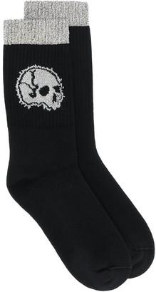 Alexander McQueen Skull Motif Knitted Socks