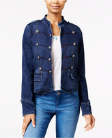 American Rag Denim Band Jacket, Only at Macy's