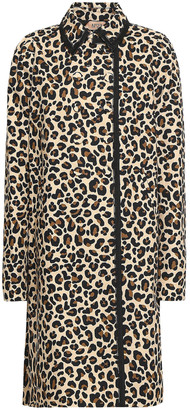N°21 N21 Leopard-print Cotton-canvas Jacket