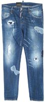 DSQUARED2 Blue Stretch Cotton Cool Girl Jeans