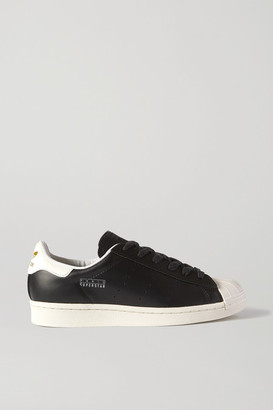 adidas Paris Superstar Leather Sneakers - Black