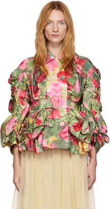 Simone Rocha Multicolor Smocked Jacket