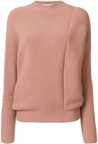 Stella McCartney asymmetric seam jumper - women - Wool - 38
