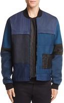 Longjourney Patchwork Bomber Jacket