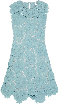Catherine Deane Fjola Guipure Lace Mini Dress
