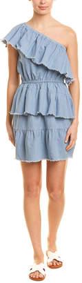 MinkPink One-Shoulder A-Line Dress
