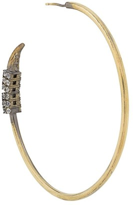 Iosselliani Be Nomad reversible hoop earring