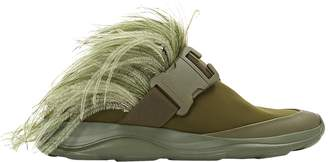 Christopher Kane Khaki Synthetic Trainers