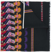 Etro multiple prints scarf