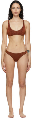 Oseree Brown Lumiere Sporty Bikini