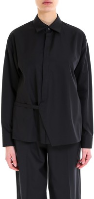 DSQUARED2 Wrap-Detail Collared Shirt